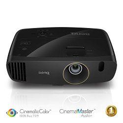 Projektor BENQ W2000+, DLP, Cinema Full HD, 2200 ANSI, short throw