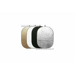 Quadralite Quantuum dosvjetljivač 5u1 120x180cm bijeli srebreni zlatni crni transparentni