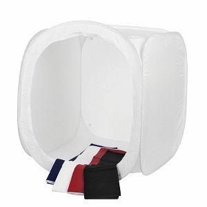 Quadralite Quantuum fotografski šator 60x60x60cm bijeli transparentni light cube 60x60
