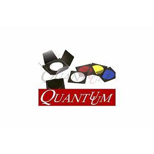 Quadralite Quantuum Set filtera i saća za studijske bljeskalice 4 boje + sać + barndoor