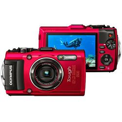 Olympus TG-4 RED Olympus, V104160RE000, RABLJENO