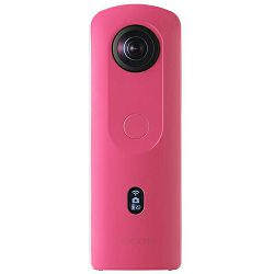 Ricoh Theta SC2 360 4K Spherical Video Camera, PINK