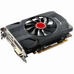 XFX Video Card AMD Radeon RX-550, 2GB 128bit DDR5, 1203/ 7000, PCI-E 3, DP, HDMI, DL-DVI-D, Single Fan, 1 slot