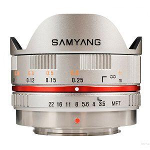 Samyang 7.5mm F3,5 micro 4/3 silver za Olympus i Panasonic