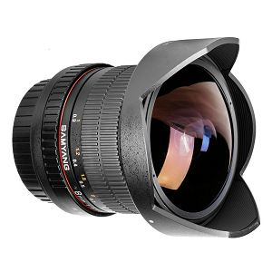 Samyang 8mm fisheye F3.5 Sony E CS II (Hood Detachable)