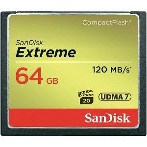 SanDisk Extreme CF 120MB/s 64 GB, SDCFXS-064G-X46