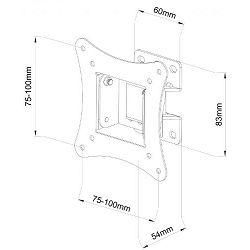SBOX zidni stalak 13