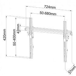SBOX zidni stalak za TV PLB-133L