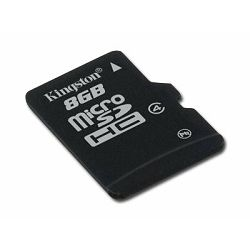 Kingston  32GB microSDHC Class 4 Flash Card Single Pack w/o Adapter, EAN: 740617175028