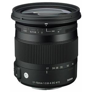 Sigma 17-70mm F/2,8-4,0 DC MACRO OS HSM, za Canon