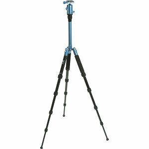 SIRUI T-005X tripod blue Alu with head C-10X