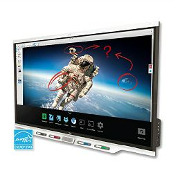 SMART Board 7075R interactive display with iQ and SMART Learning Suite