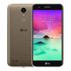 Smartphone LG K10 (2017), DualSIM, 16GB, zlatno žuti