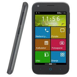 Smartphone ZTE Blade L110, DualSIM, 4GB, crni