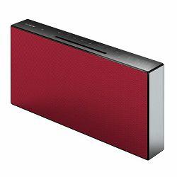 Sony CMT-X3CD, FM/CD/USB/Bluetooth/NFC, 20W, crveni