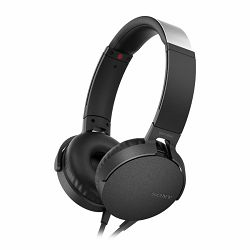 Sony MDR-XB550AP EXTRA BASS, crne