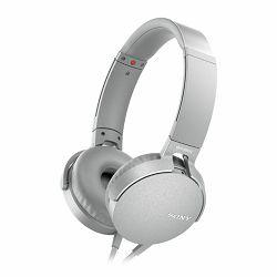 Sony MDR-XB550AP EXTRA BASS, bijele