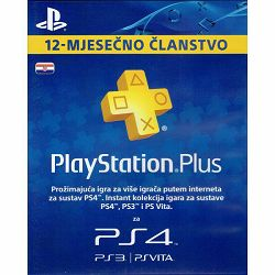 SONY PlayStation Plus Card 365 Days Hanger