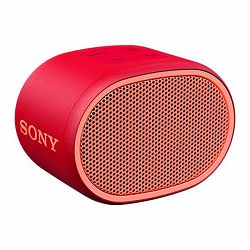 Sony SRS-XB01, prijenosni zvučnik Bluetooth, crven
