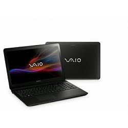 Sony VAIO SVF1521V1E - Intel i5-3337U / 6GB RAM / 1 TB HDD / GT740 / Windows 8 / crni