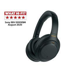 Sony WH-1000XM4, bežične slušalice, crne