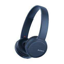 Sony WH-CH510, bežične slušalice, NFC/Bluetooth, plave