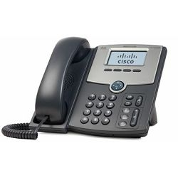 Cisco 1 Line IP Phone With Display, PoE, PC Port, SPA502G