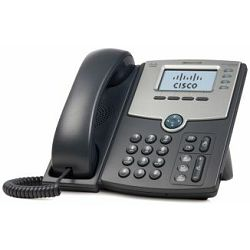 Cisco 4 Line IP Phone With Display, PoE and PC Port