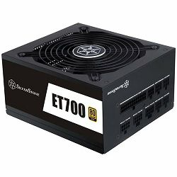 SilverStone Strider Essential Series, 700W 80 Plus Gold ATX PC Power Supply, Low Noise 135mm, 100% modular