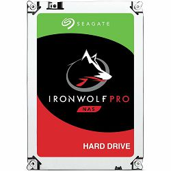 SEAGATE HDD Desktop IronWolf Pro (3.5/ 4TB/ SATA 6Gb/s/ rmp 7200)