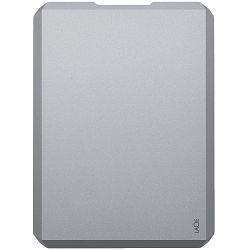 LaCie HDD External Mobile Drive (2.5/1TB/ USB 3.0/ USB-C) Moon Silver