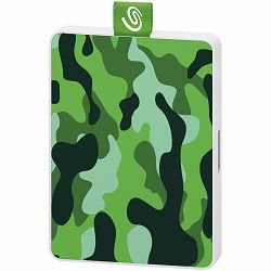 SEAGATE SSD External One Touch Special Edition (2.5/500GB/ USB 3.0) Military Green (Adobe Creative Cloud 2 month)