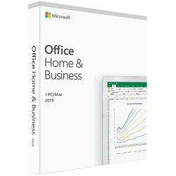 Office Home and Business 2019 English EuroZone Medialess P6, T5D-03308