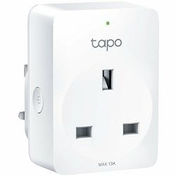 TP-Link Tapo P100, Mini Smart Wi-Fi Socket, Remote Control for Home Appliances, IEEE 802.11b/g/n, Bluetooth 4.2, Wi-Fi 2.4GHz, Android 4.4+, iOS 9.0+