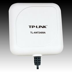 TP-Link Outdoor Directional Panel Antenna TP-Link TL-ANT2409A, 2.4GHz 9dBi, Cable length=1m, RP-SMA connector