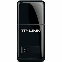 NIC TP-Link TL-WN823N, USB 2.0 Mini Adapter, 2,4GHz Wireless N 300Mbps, Internal Antenna, Support Soft AP, Dimension 39 x 18.35 x 7.87mm