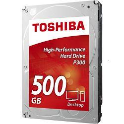 Toshiba P300 500GB, 64MB, 7200rpm