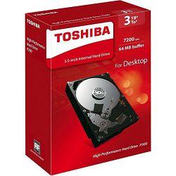 Toshiba P300 3TB, 64MB, 7200rpm, retail
