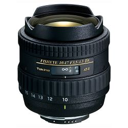 Tokina AT-X 10-17mm F3.5-4.5 DX N/AF W/O Hood za Nikon,  FISHEYE, 4961616965564