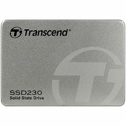 "TRANSCEND 230S 256GB SSD, 2.5"" 7mm, SATA 6Gb/s, Read/Write: 560 / 520 MB/s, Aluminum case"