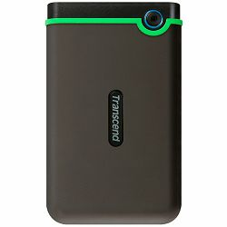 Transcend 2TB StoreJet 2.5 M3S, portable HDD USB 3.1 Gen 1 USB Type-A Iron Gray (Slim), EAN: 0760557840886
