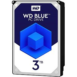 Western Digital Blue 3TB, 3,5