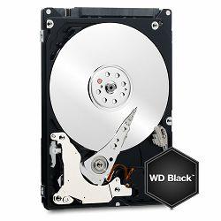HDD Mobile WD Black (2.5, 1TB, 32MB, 7200 RPM, SATA 6 Gb/s)