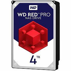 HDD Desktop WD Red Pro (3.5, 4TB, 256MB, 7200 RPM, SATA 6 Gb/s)