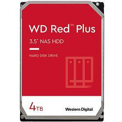 HDD NAS WD Red Plus (3.5, 4TB, 128MB, 5400 RPM, SATA 6 Gb/s)