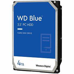 HDD Desktop WD Blue (3.5, 4TB, 256MB, 5400 RPM, SATA 6 Gb/s)