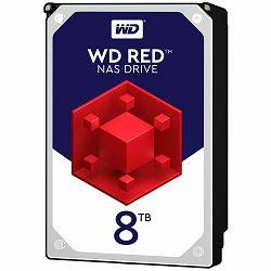 HDD Desktop WD Red (3.5, 8TB, 256MB, 5400 RPM, SATA 6 Gb/s)