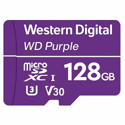 CSDCARD WD Purple (MICROSD, 128GB)