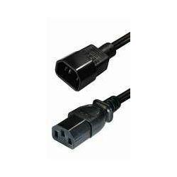 Kabel za spajanje na UPS, IEC C13/C14, 1,5m