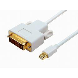 Kabel mini DP/DVI, 1.8m
